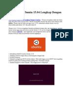 Cara Instal Ubuntu 15