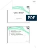 Chapter 2 Quality and Global Competitiveness