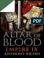 Altar of Blood_ Empire IX - Anthony Riches.epub