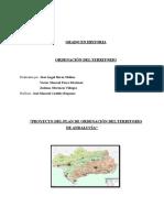 Proyecto Del Plan de Ordenación Del Territorio de Andalucía. Títulos 1 y 2