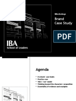 Workshop on Brand Case Study