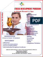 Waiters Development Program