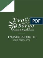 Frantoio EVO del Borgo - Catalogo Prodotti 2016