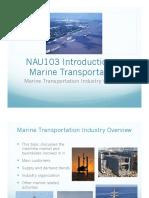 Introduction to Marine Transportation
