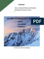 Dolomiti Geologia e Paesaggio. Di Gabriele Pavan.