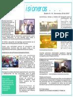 Boletin 19 - Noviembre 29 de 2007 - Noticias desde el Salvador.