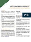 Cementitious Materials for Concrete 2016