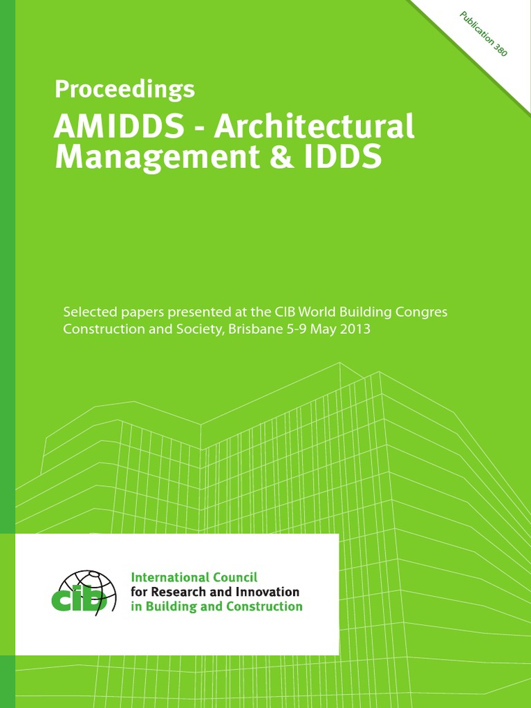 AMIDDS_ARCHITECTURAL_BUILDING CONGRES pdf | Building