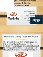 CSR by Mahindra Group