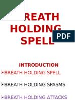 Breath Holding Spell