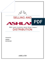 Analysis of Selling and Distribution Channels of Ashland Inc.