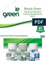 Simple Green- Industrial cleaner and degreaser