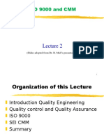 Sqe-lec02-Iso 9000 and Cmm