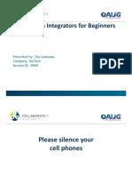 Oracle Data Integrators for Beginners