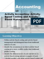 Cost Accounting Ch13