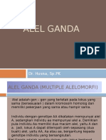 Alel Ganda Dr.husna Ppt