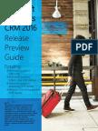 Guide Dynamics CRM 2016