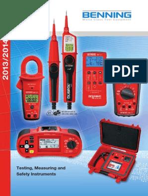 Digital Multimeter Benning MM 1-3 MM1-3 *NEU*
