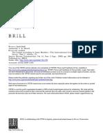 Review Davies, W.D., Allison, Dale C., Matthew