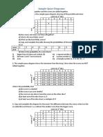 Sample Space Diagrams 1[1]
