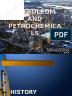 Petroleum refining and Petrochemicals