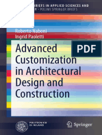 Advanced Customization in Architectural Design & Construction - Roberto Naboni & Ingrid Paoletti