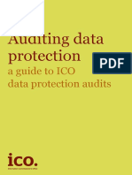 Auditing Data Protection