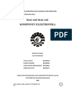 46440927 Makalah Komponen Elektronika