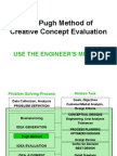 The Pugh Method[1]