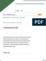 Le Démarrage Étoile Triangle _ Analyse Et Calculs
