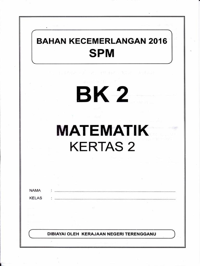 Trial Spm 2016 Terengganu Bk 2 1449 2