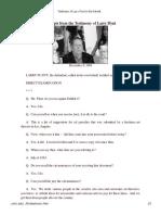 Testimony of Larry Flynt in the Falwell v Flynt Trial