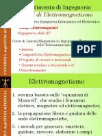 Corso Campi Elettromagnetici Introduzione