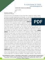 EJEMPLO DE DESCRIPCION TECNICA