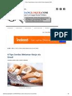 6 Tips Cerdas Melamar Kerja via Email Terbaru September 2016