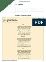 Himno Al Estado de Puebla - Wikisource