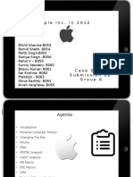 Apple in Inc. 2012 (Case Study)_Group 6