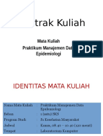 Kontrak Kuliah Prak Mandat Epid 2014-2015