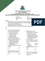 Soal Kimia Kelas XI IPA