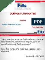 CORPOS FLUTUANTES