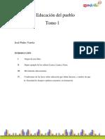 Vera_Jose Pedro-La Educacion Del Pueblo TOMO I