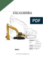 Informe Excavadora