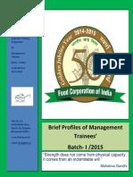 MT Batch I-2015 Profile