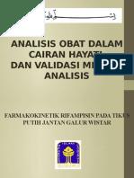 Analisis Obat Dalam Cairan Hayati (P1) Praktikan