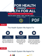 The Philippine Health Agenda