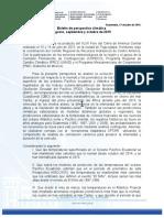 Boletin Estacional ASO 2015
