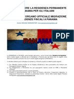 Residenza a Panama Per Gli Italiani - Studio Panama Immigration