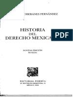 Historia Del Derecho Mexicano. Jose Luis Soberanes