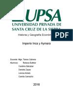 Imperio Incaico y Aymara.docx