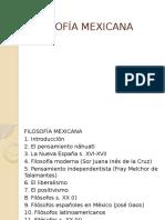 Introducción a la Filosofía Mexicana